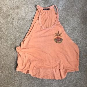 WORN ONCE! Vintage style Obey tank